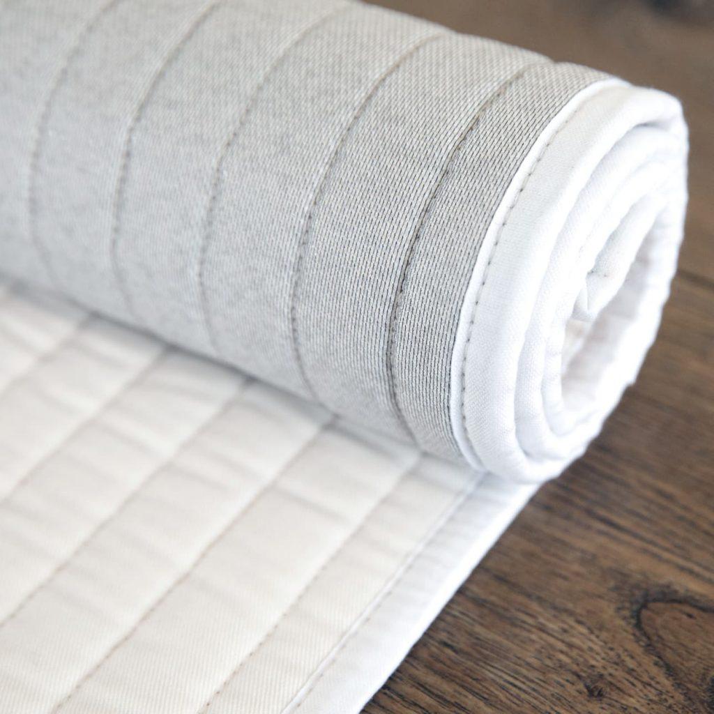 Baumwoll Yogamatte mit Grip